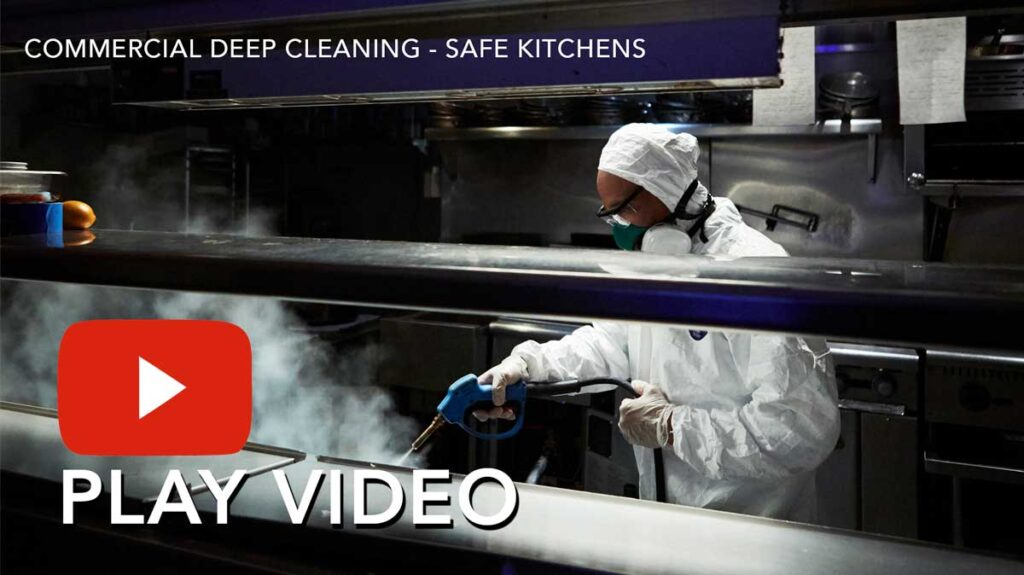 Commercial Kitchen Cleaning Video